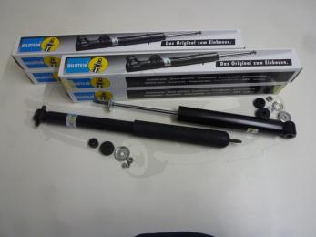 gas shock absorber set Bilstein rear and front axle