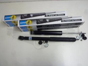 gas shock absorber set Bilstein front and rear axle