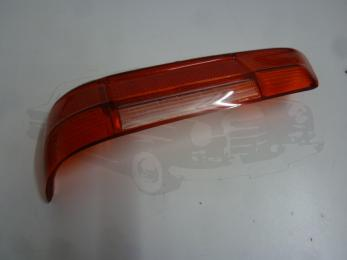 glass red left taillight