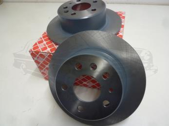 brake disc set rear axle