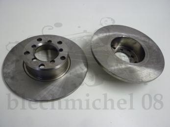 set brake disc front axle (2 pcs.)