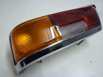 taillight with orange glass